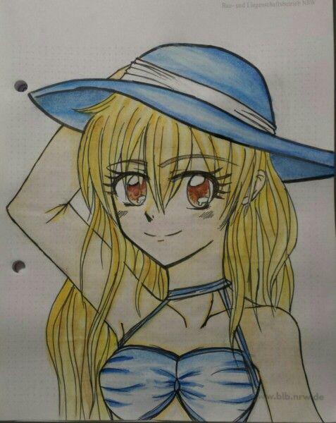 Manga girl I drawed