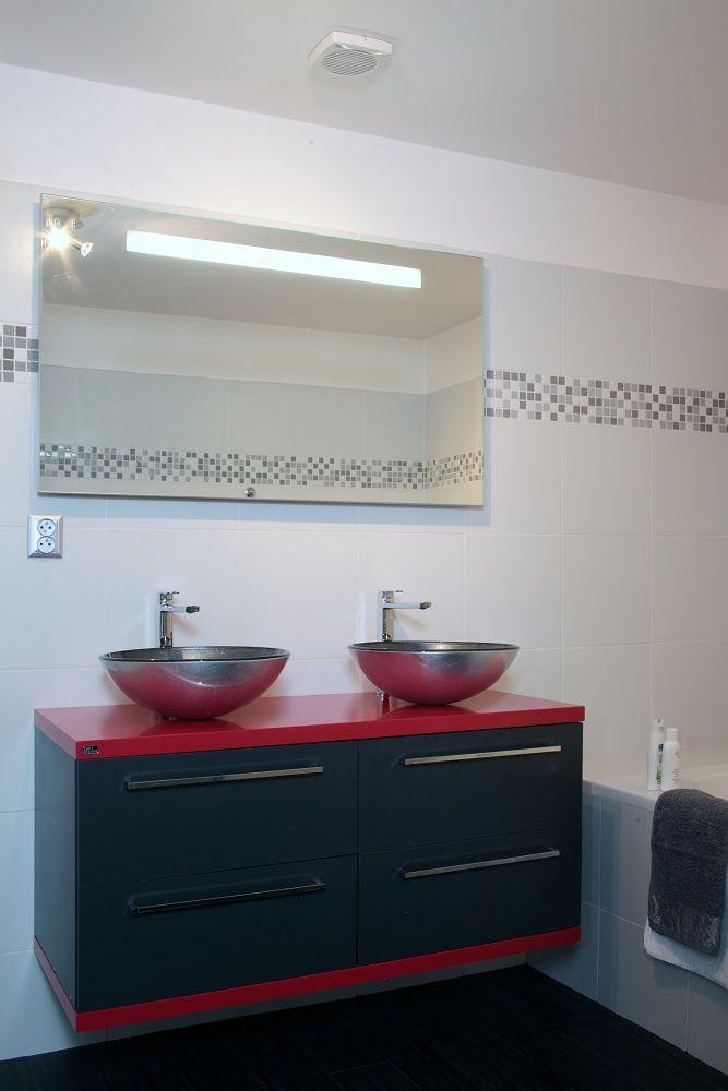 Nová koupelnová skříňka, Břevnov /  © GeddesKaňka, s.r.o.