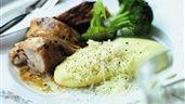 Ugnsgrillad kyckling med parmesanpotatispuré | Recept