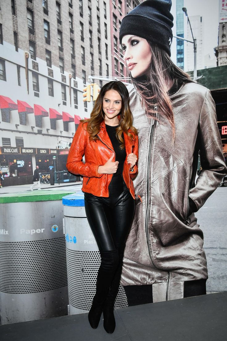 Hana Nitsche poses during the Freaky Nation 'Hana Nitsche NYC' campaign presentation