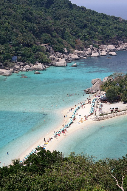 Koh Nang Yuan, Thailand   by AndreZ, via Flickr