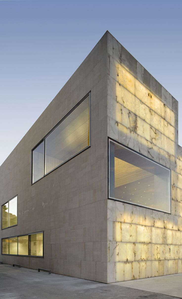 Administrative Regional Center for the Development of Local Alabaster in Hijar, spain by Magen Arquitectos. Beautiful.