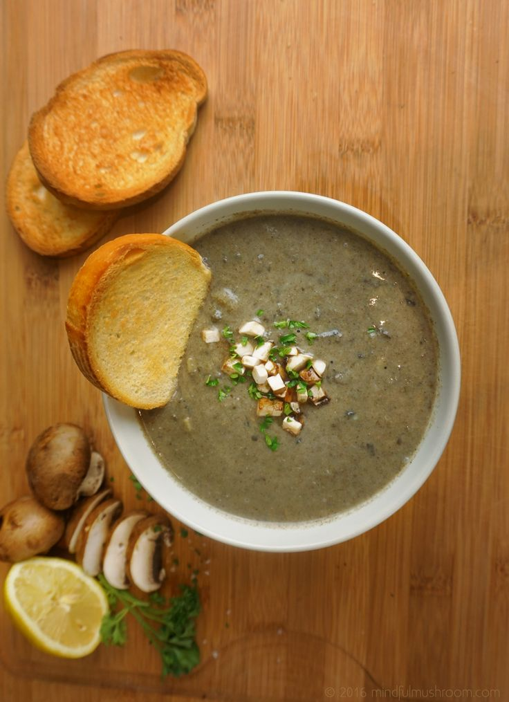 about Best Mushroom Soup on Pinterest | Soups, Creamy Mushroom Soup ...