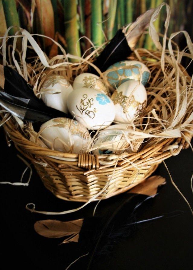 Koristele näyttävät pääsiäismunat helposti