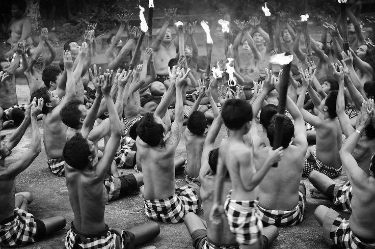 Kecak dance, Ubud, Bali, Indonesia.