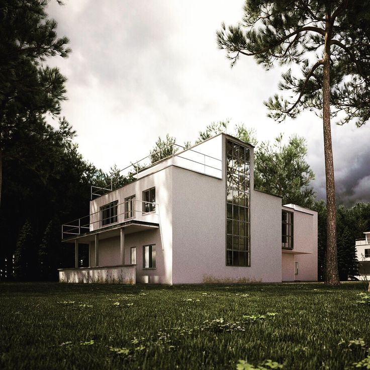 The Masters Houses in Dessau by Walter Gropius / bauhaus