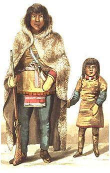 Athabasken bzw. Athapasken ist eine Sammelbezeichnung für die zahlreichen zerstreut lebenden indigenen Bands des nördlichen Zweiges der athapaskischen Sprachfamilie, die bis auf eine Ausnahme (Dena'ina, Meeresfischer im Cook Inlet) in den borealen Nadelwäldern, Waldtundren, Bergwäldern sowie entlang der großen Flüsse und Seen Alaskas (2005 ca. 7.000) und Nordwest-Kanadas (2005 ca. 27.000) leben.[1]