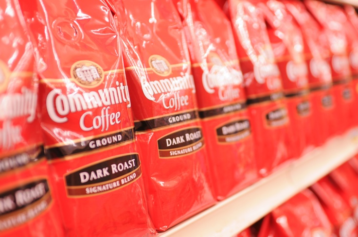 Dark roast, anyone? No coffee like it.. Can't live without my Community Coffee