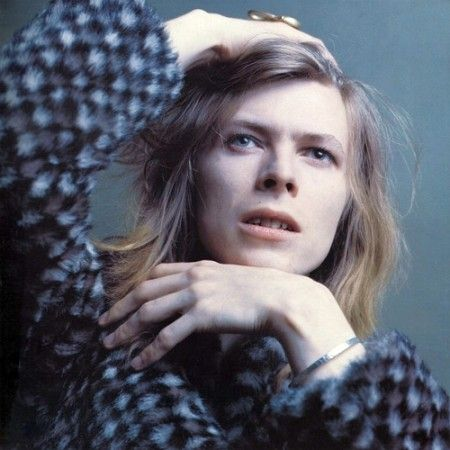 David Bowie, Hunky-Dory Sessions, Photo Bryan Ward, 1971
