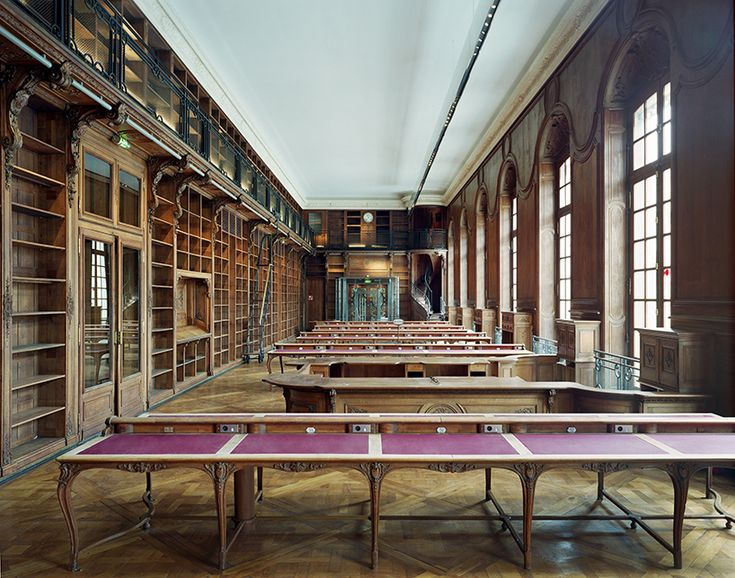 National Library of France, in Paris, designed by architect Henri Labrouste and built in the mid-19th century | Curbed.com