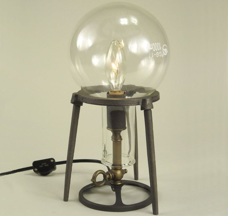 Light up your laboratory with this unique chemistry table lamp!