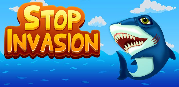 Did you have fun alien-hunting the last time? Then you'll be delighted to learn we now have a new and improved version if Stop Invasion available for free on our site! Meet your old partner in crime - the shark - and go ahead with the usual world-saving business!