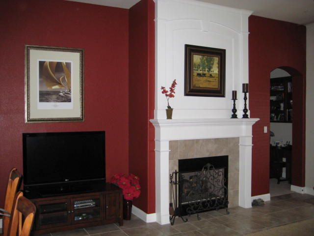 25 best ideas about red accent walls on pinterest red for Living room accent wall