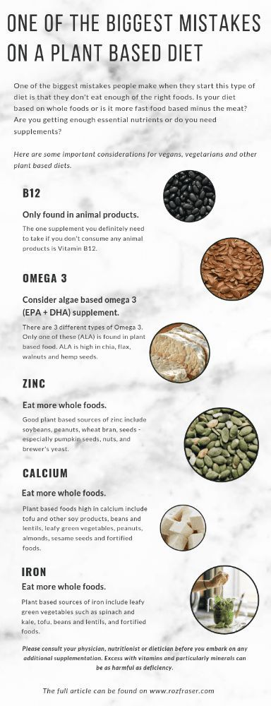 One of the biggest mistakes on a plant based diet. Do you need supplements or ar…