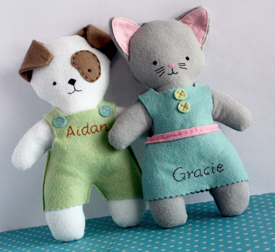 Personalized Pets (Woof or Meow) A design original by Old School Acres