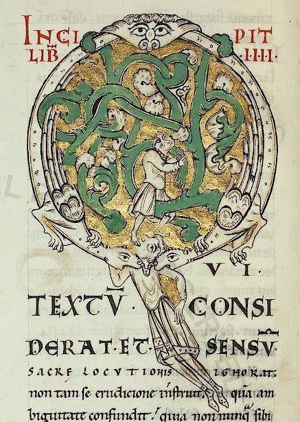 Pal. lat. 251  S. Gregorii  Moralia in Iob  13. Jh.  Persistent URL: http://digi.vatlib.it/view/bav_pal_lat_251