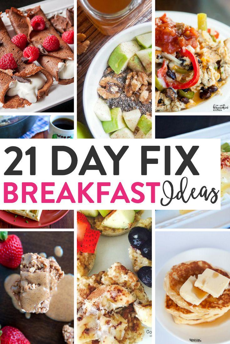 21 Day Fix Breakfast IdeasShannon
