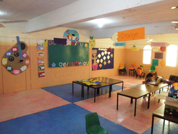 Asi es como se ve el salon de clases preescolar de vuelta a clases go back to preschool - Ideas para el salon ...