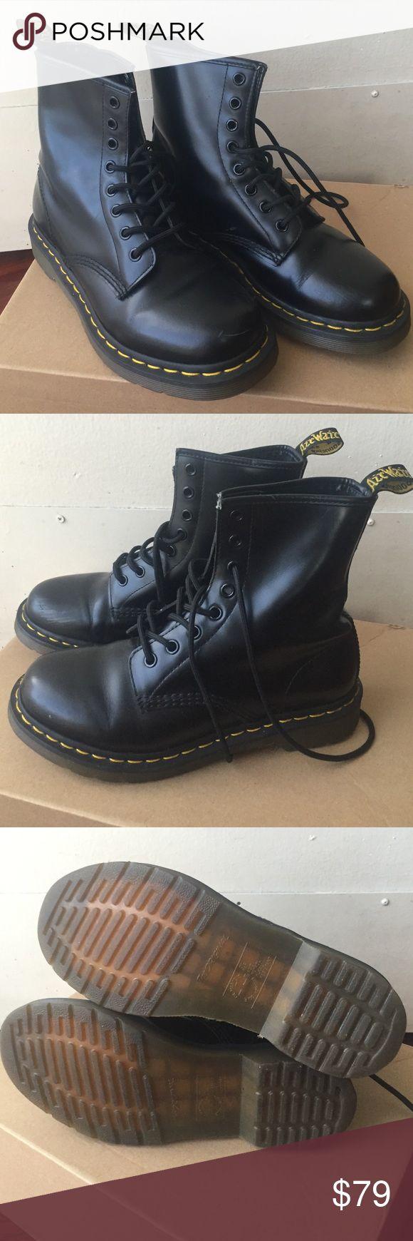 Dr. Martens women Black Dr. Martens boots. Slightly used. Dr. Martens Shoes Combat & Moto Boots