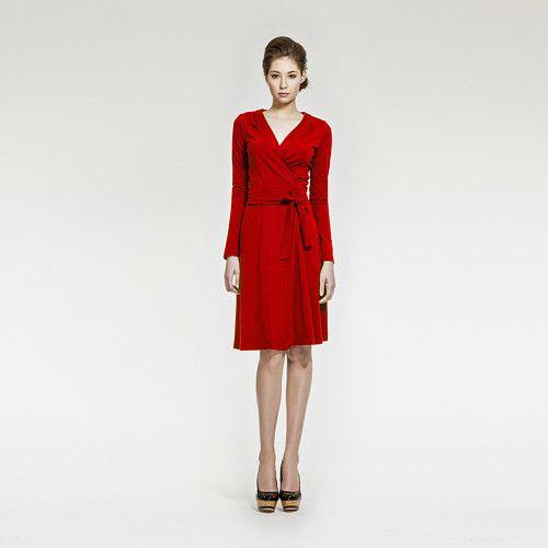 s/s 2015 - Zavinovací šaty