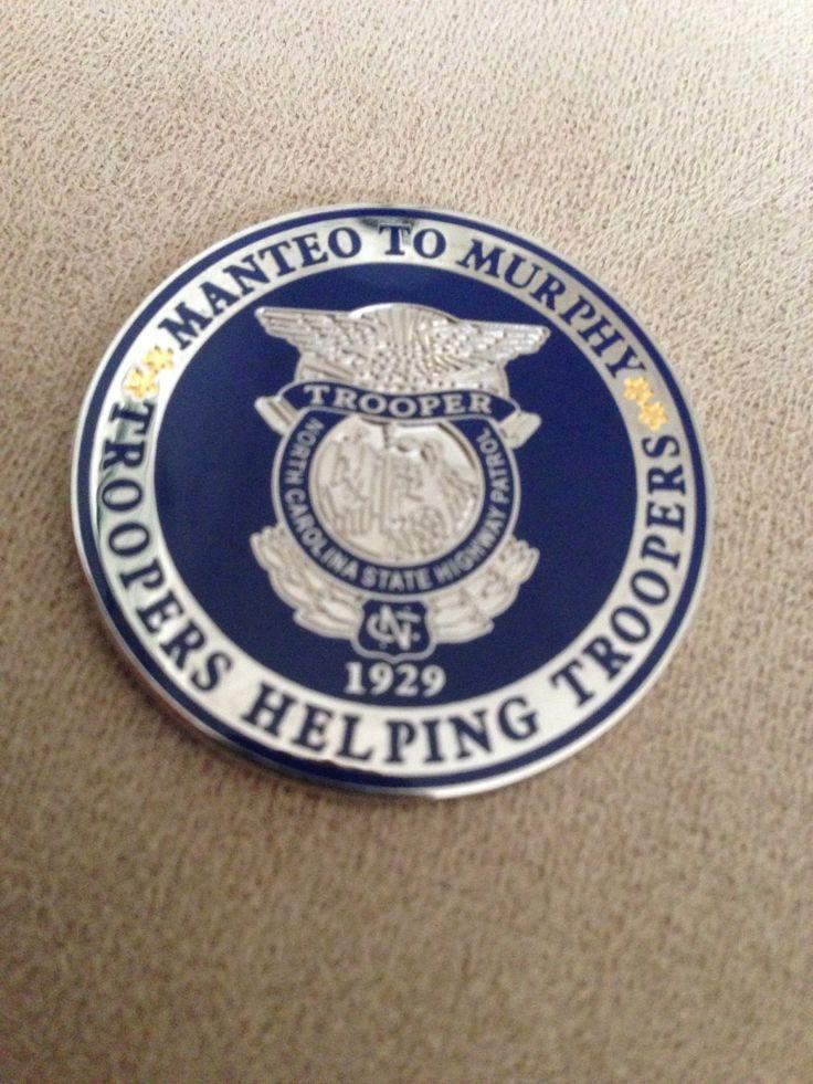 North Carolina State Highway Patrol Police challenge