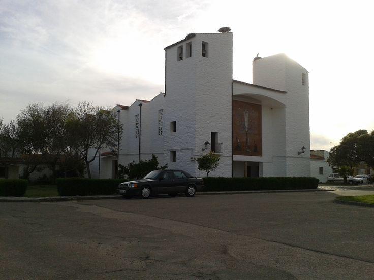 La Iglesia de Vegaviana