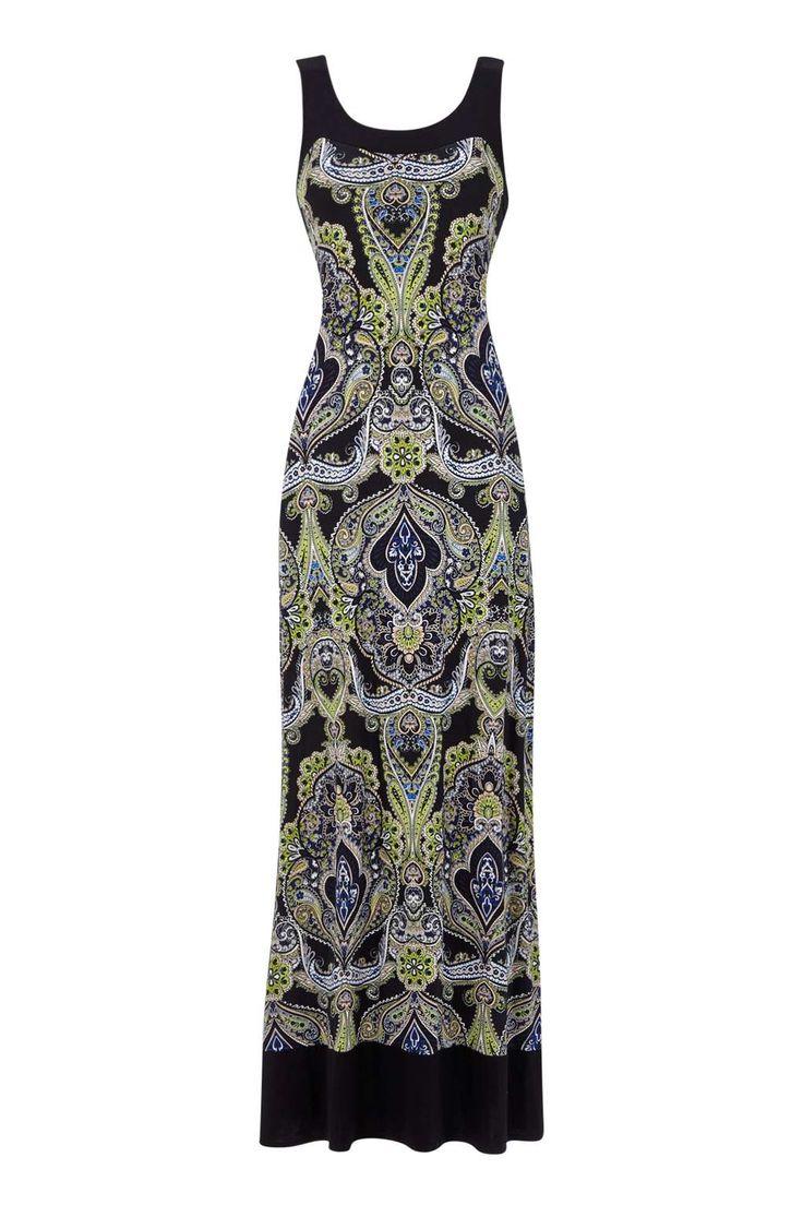 Paisley Printed Maxi Dress - Wallis