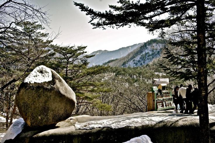 Mt. Seorak in Gangwondo!!