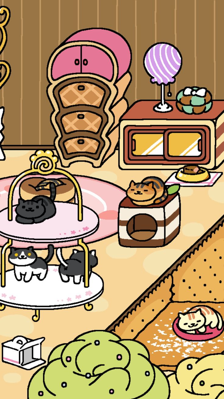 Kitties Cat app, Neko atsume, Japanese cat