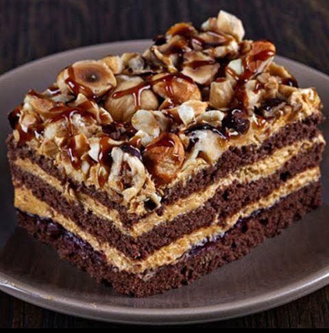 """торт """"АРАБСКИЕ СКАЗКИ"""" с лимонным кремом #рецепты #кулинария #вкусняшка…"""