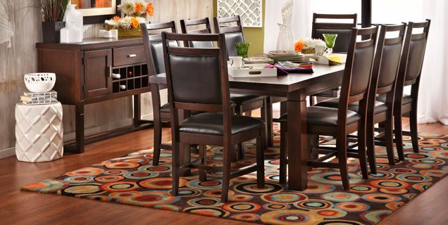 This Isn T Specifically The Dining Set That I Want But Definitely Something Seats 8 Is Nice Too