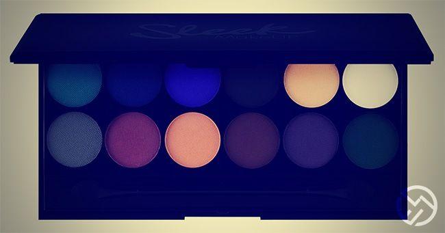 Paletas de sombras Sleek MakeUp: Los productos estrella de la marca