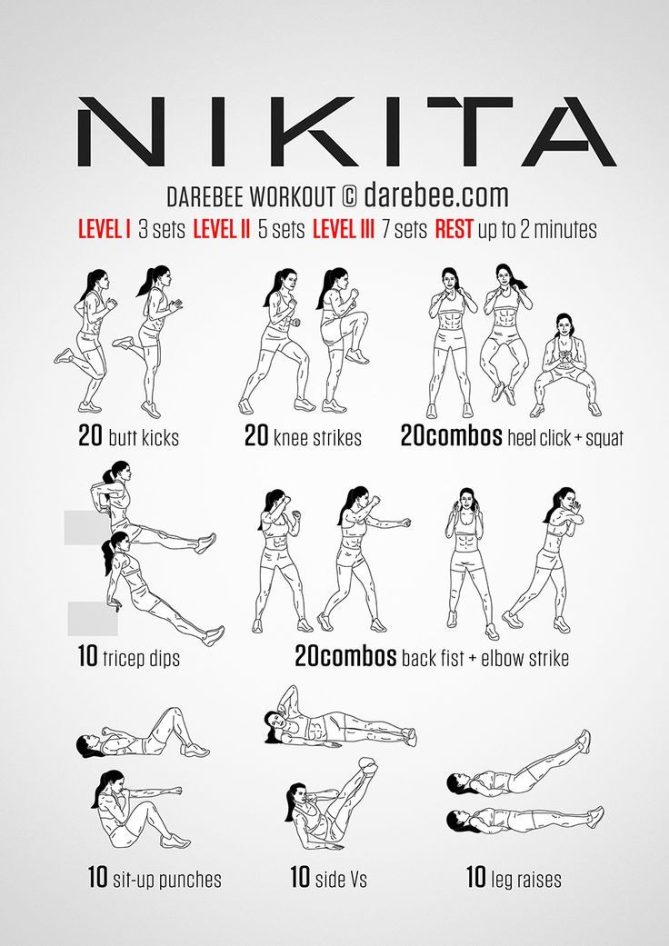 Nikita Workout