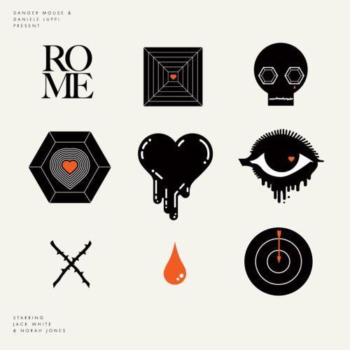 Imágenes del grandioso ábum ROME. Danger Mouse, Daniele Luppi, Norah Jones y Jack White. <3 <3: