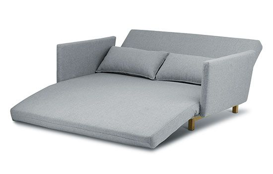Scandy Sofa Bed In Oxford Smoke Use As A 2 5 Seat Sofa