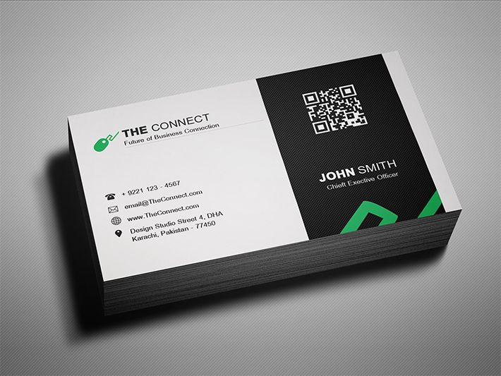 Awesome Stylish Business Card Template Free Download Psd Business Cards Free Business Card Templates Corporate Business Card Stylish Business Cards
