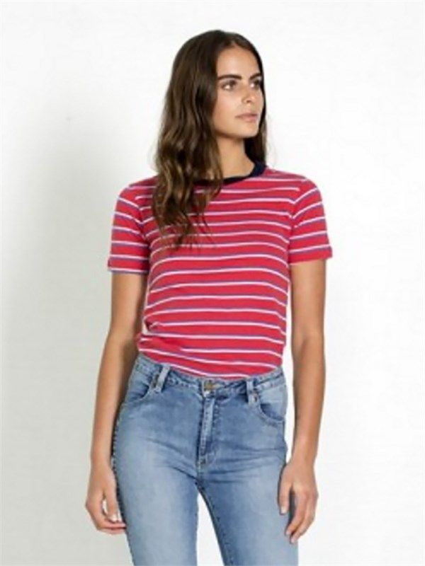 S Saturday Stripe Tee by ROLLAS