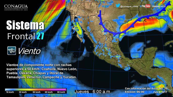 Ligero descenso de temperatura en México - http://www.notimundo.com.mx/el-tiempo/ligero-descenso-de-temperatura-mexico/