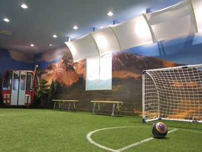 Mansion with indoor soccer field  Indoor soccer field. Alexis would love this:) | I'm too lazy to ...