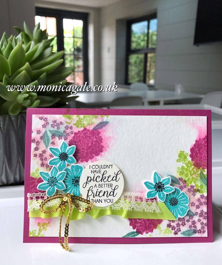 Stampin Up UK Demonstrator Monica Gale Helps You Unleash Your Creative Side Join