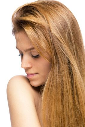 strawberry blonde color match service hair extensions