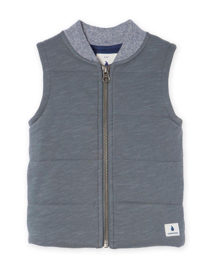 Cut & Sew Jersey Vest