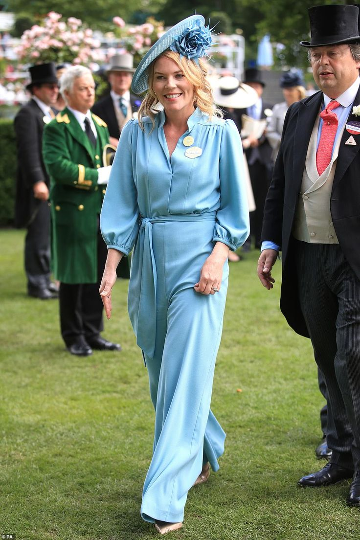Autumn Phillips, 41, dazzles in jumpsuit at Ascot