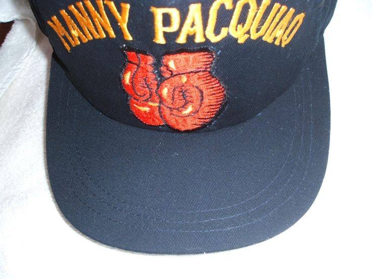 """Manny """"Pacman"""" Paciquiao new black ball cap: Manny """"Pac Man"""" Pacquiao new black ball cap. The Filipino is a 8 Division World Champion boxer, a politician as well as Sgt Major in the Philippines Military Reserve. This is one of a kind cap made in Angeles City, PI."""