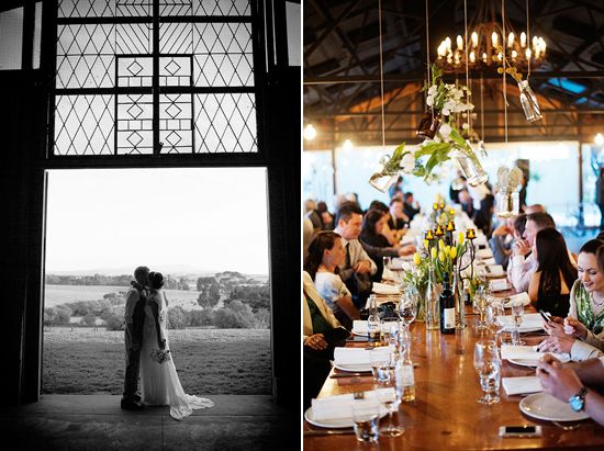 Leanne and Lincoln's Chic Yarra Valley Wedding