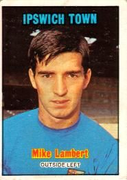 Nigel's Webspace - A&BC Chewing Gum - 1970/71, Footballers, Orange backs, Ipswich Town