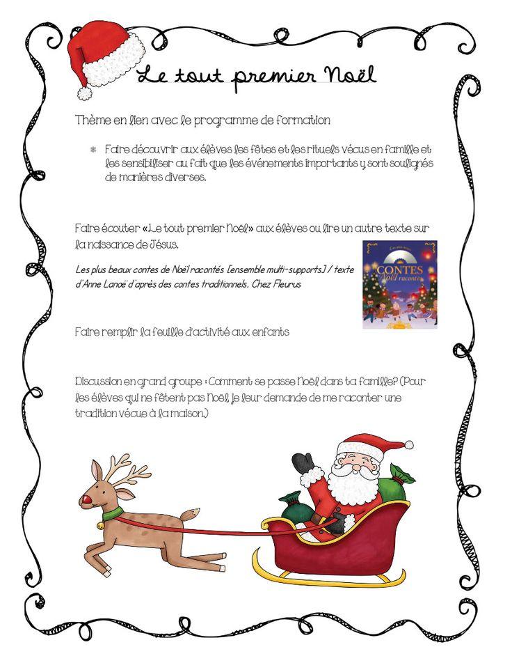 Voici une petite feuille qui pourrait être utile pour les enseignants du 1er cycle! Dans les derniers jours avant Noël, on ne sait plus quoi...