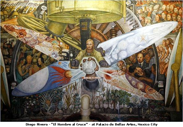 120 best diego rivera obras de arte images on pinterest for Diego rivera rockefeller center mural