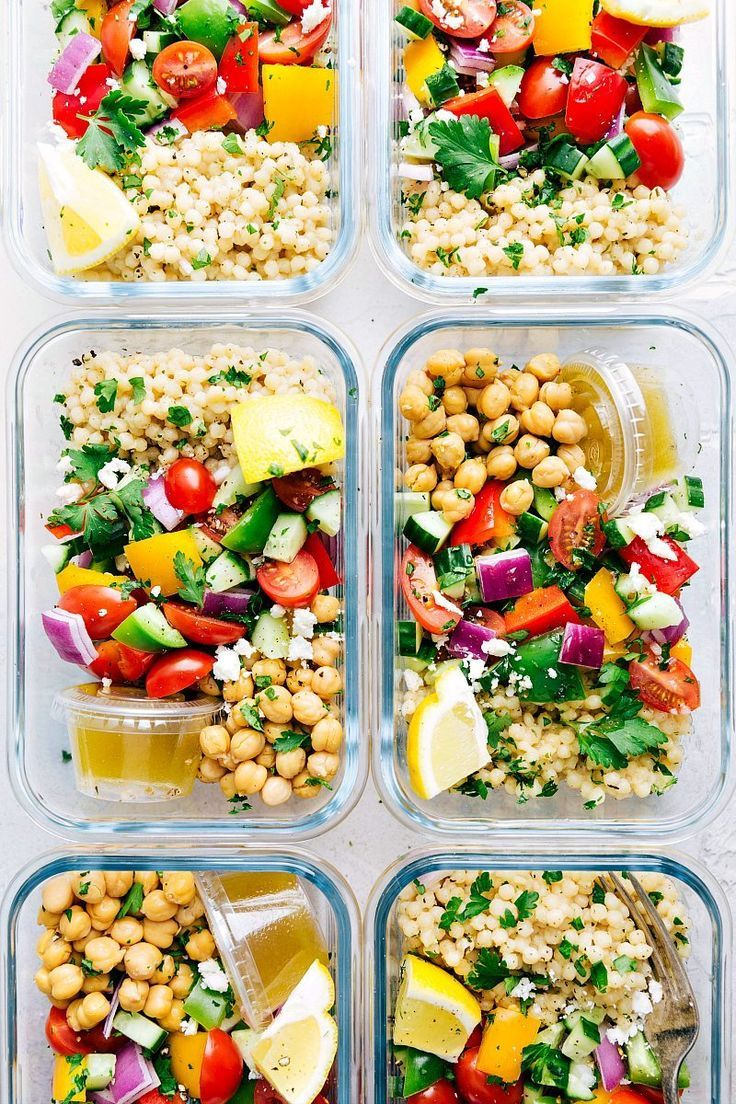 20 receitas saudáveis que você pode preparar esta semana – Meal Prep   – Vegetarisch