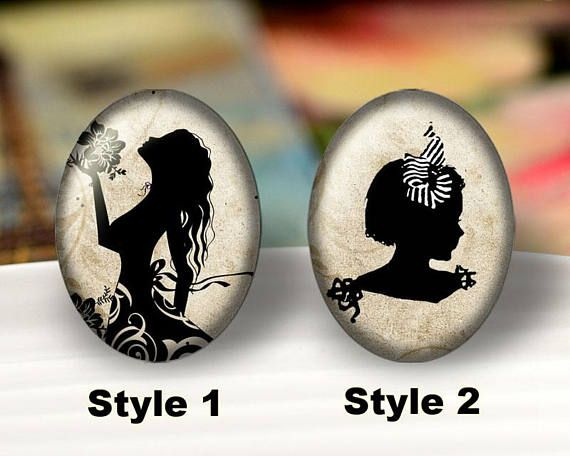 multiple styles size design round cabochons -yx725-4 illustration cabochons handmade cabochons glass cabochons